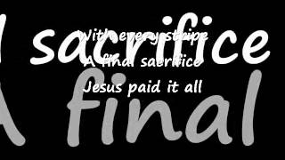 Watch Phil Driscoll Jesus Paid It All video