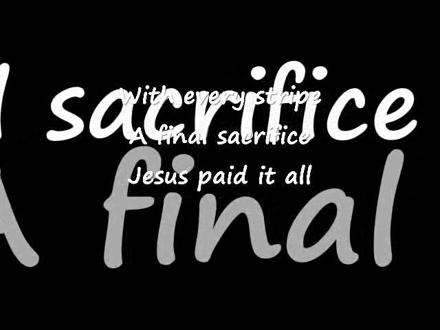 Jesus Paid It All ~ Phil Driscoll Chords - Chordify