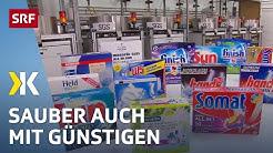Multi-Tabs im Test: Sauberes Geschirr auch ohne Phosphate |   2017 | SRF Kassensturz