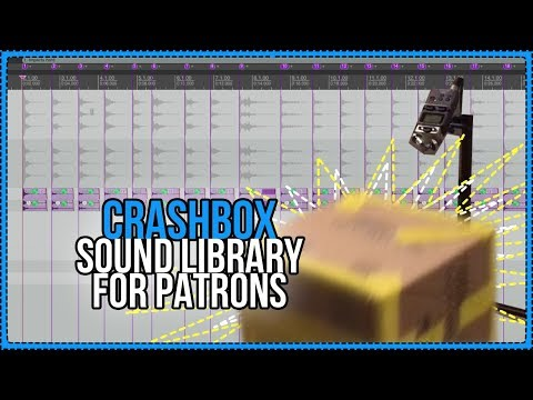 Crashbox Sound Library for REAPER BLOG Patrons