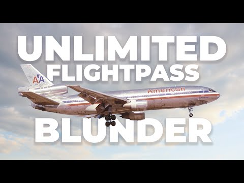 The American Airlines AAirpass – The Unlimited Flight Pass That Didn't Work