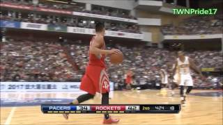 Jeremy Lin林書豪 Full Highlights | Taipei,Taiwan 臺北臺灣 | Rockets火箭队 vs Pacers步行者队 | 10.13.2013 HD