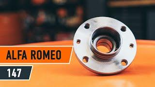 Comment remplacer des roulement de roues arrière sur une ALFA ROMEO 147 TUTORIEL | AUTODOC