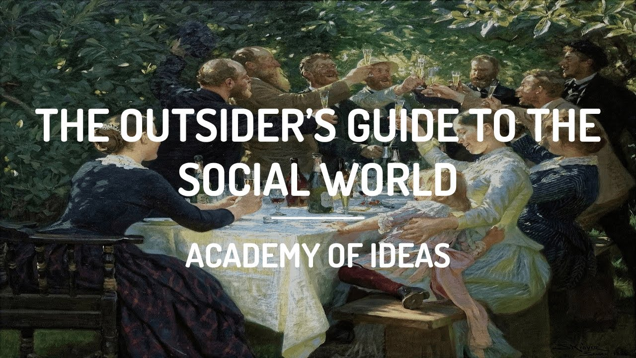 The Outsider's Guide to the Social World