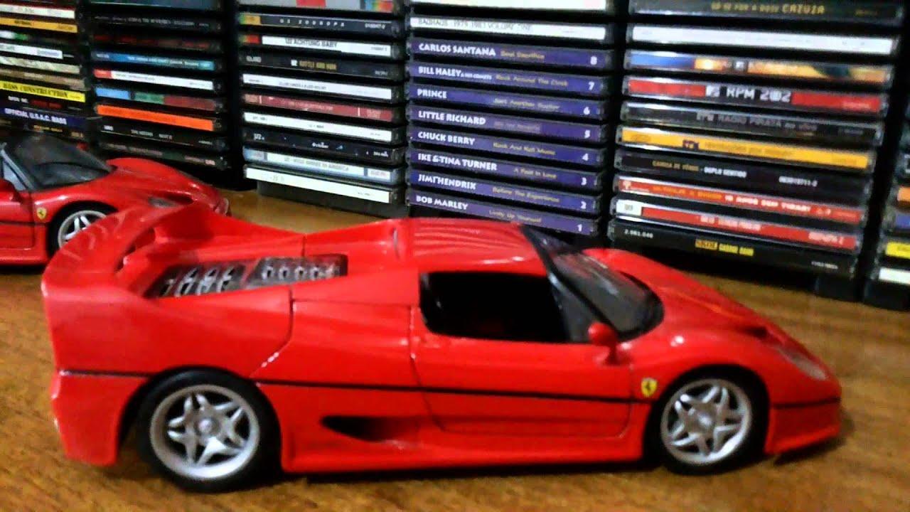 Ferrari f50 1/18 - Maisto - YouTube