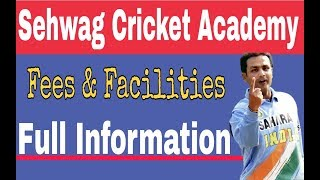 Sehwag Cricket Academy fees || Sehwag International School Fees and full details ||  || Spo Tech