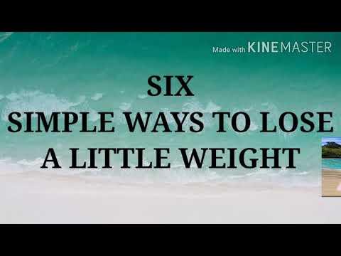 SIMPLE WAYS TO LOSE WEIGHT| MIYA VLOGS