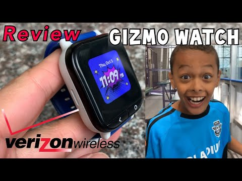 GIZMO WATCH BY VERIZON WIRELESS | REVIEW