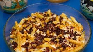 Patatas con Queso y Bacon al Estilo Fosters Hollywood