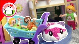 Playmobil Film deutsch - Kinderfest mit Hamster Express - Familie Hauser Spielzeug Kinderfilm