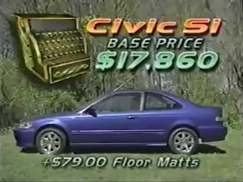Motorweek 1999 Honda Civic Si Road Test