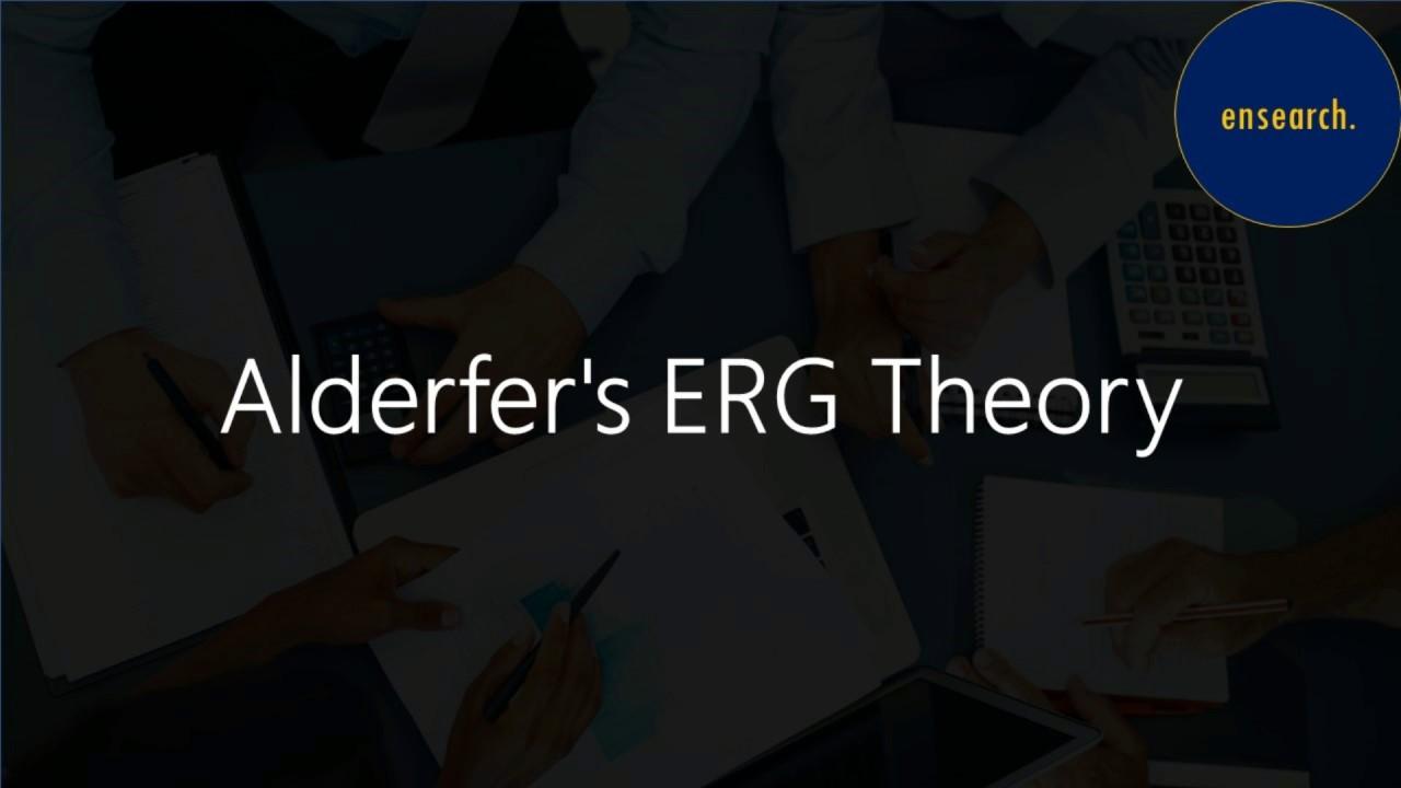 Alderfer's ERG Theory - YouTube