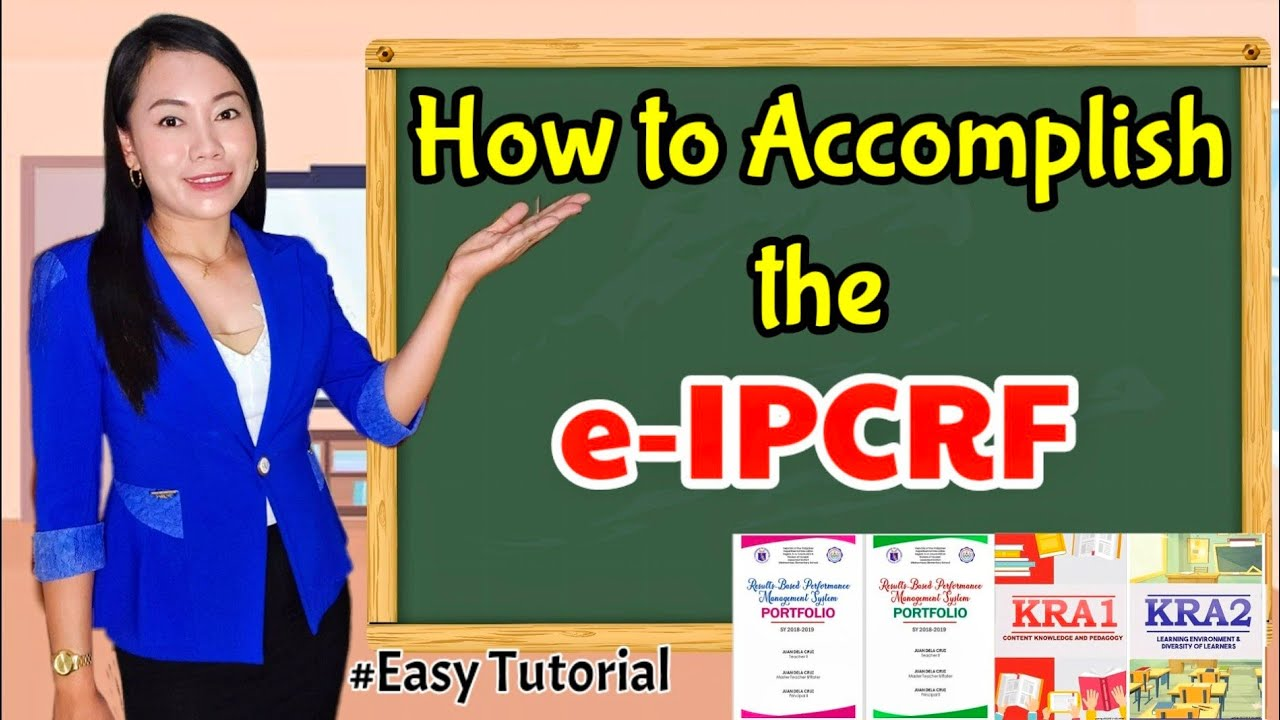 ACCOMPLISHING the IPCRF 2019-2020 (Edited) | Complete TAGALOG  Tutorial