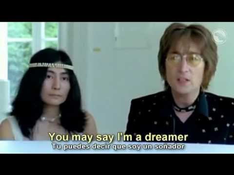 John Lennon    Imagine  subtitulada al espaol y al ingles