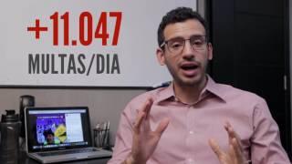 A Industria da Multa em SP   Vereador Caio Miranda