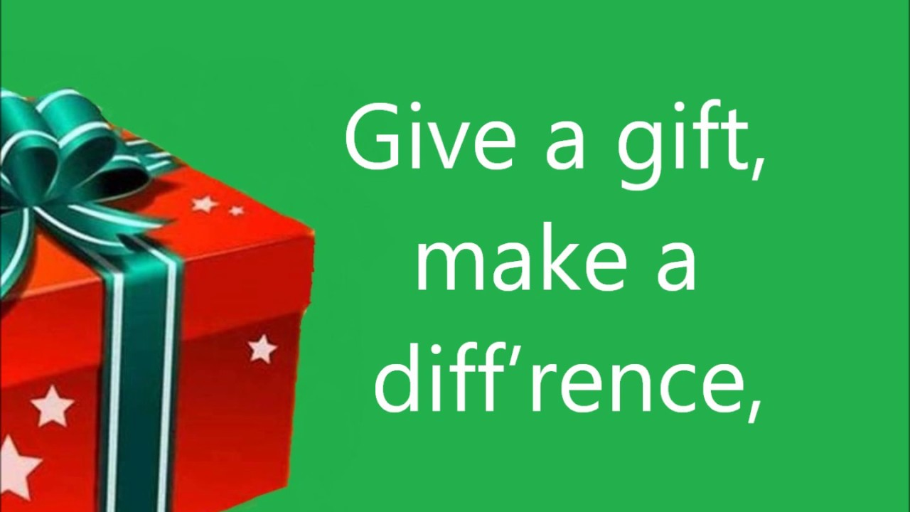 Give a Gift This Christmas - YouTube