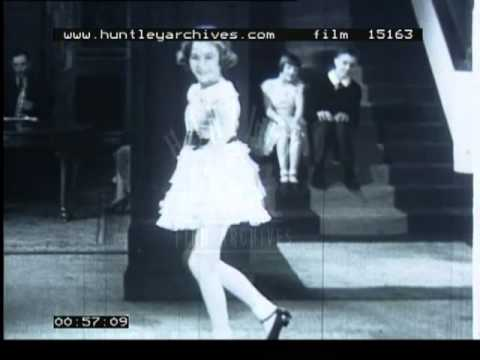 Teenage Girls Tap Dancing 1930 S Film 15163 Youtube