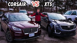 2020 Lincoln Corsair vs 2020 Cadillac XT5 | American Compact Luxury SUV Battle | Lincoln vs Cadillac
