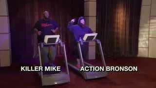 Treadmill Rap Battle Action Bronson Killer Mike   The Eric Andre Show   Adult Swim