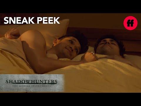 #Malec In Bed   Sneak Peek: Season 2, Episode 18   Shadowhunters