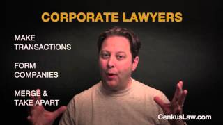 What is a Corporate Lawyer and What Do They Do?