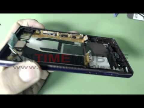 How to open or repair Sony Xperia Z,C6606,LCD,Charging port etc..