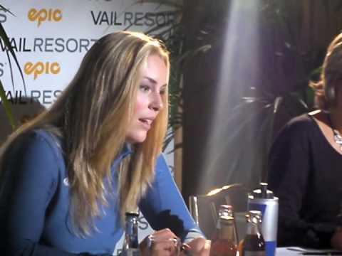 Lindsey Vonn für Vail Resort in München / Munich
