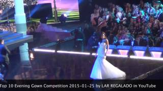 Miss Universe 2014 Top 10 Evening Gown Competition 2015-01-25