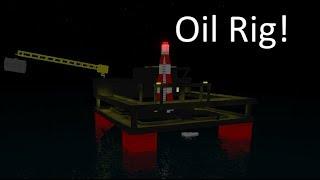 Roblox Plane Crazy Oil Rig!