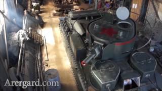 Единственный в мире танк Т-28 на ходу / The world