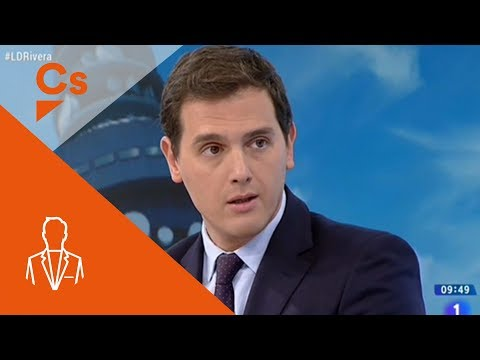 """Albert Rivera. Entrevista en """"Los Desayunos"""" de TVE"""