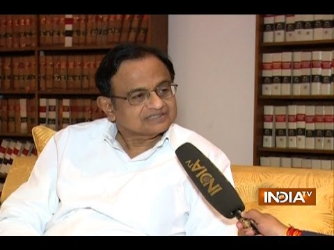 Exclusive Interview of P. Chidambaram, Demonetisation is Pointless Move by Modi Govt