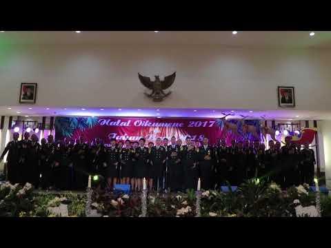 """Kemegahan Paduan Suara PIP """"Bahana Irama Samudra"""" DI Natal Maritim Semarang"""