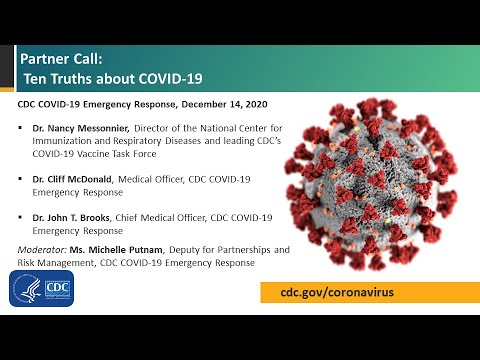 Partner Call:  Ten Truths about COVID-19