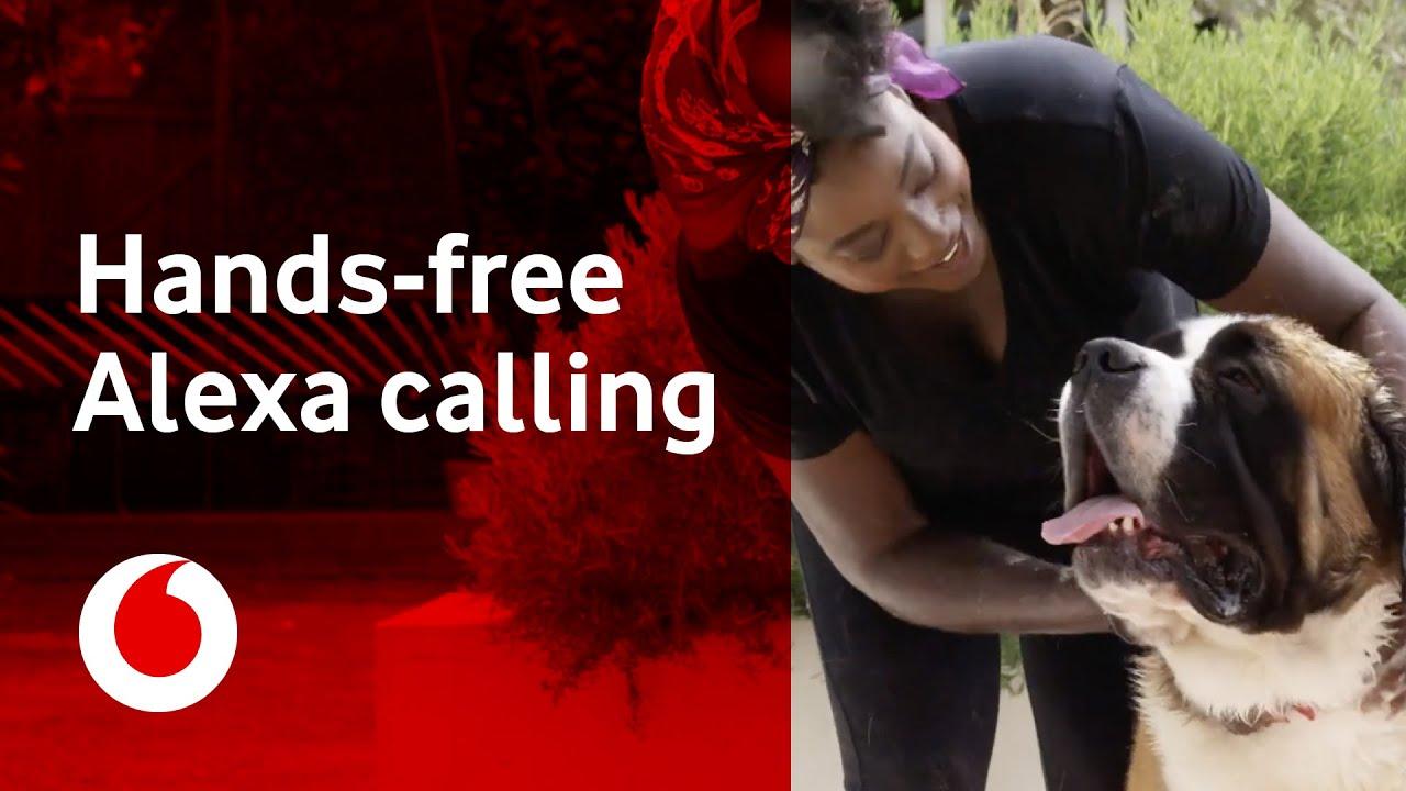 Vodafone UK Users Get Hands Free Mobile Calls via Amazon
