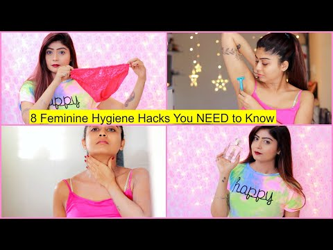 8 Personal HYGIENE Hacks You NEED To Know | Hair Removal, Odour, Shaving | Rinkal Soni