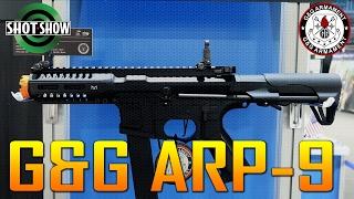SHOT SHOW 2017 G&G ARP9 PDW - SPARTAN117GW