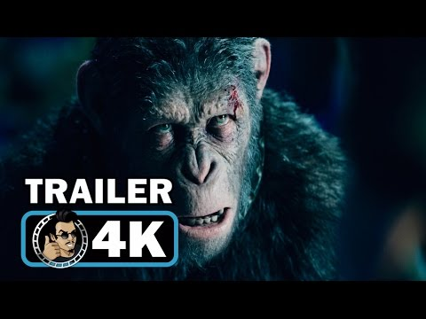 Thumbnail: WAR FOR THE PLANET OF THE APES 4k Trailer (2017) Andy Serkis Woody Harrelson Sci-Fi Movie HD