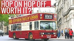 Are Hop On Hop Off Tours in London Worth it? | London Tours | Love and London