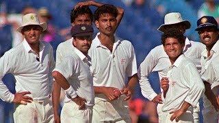 India vs Pakistan Sharjah 2nd match 1991/92. Sachin 52(40) match winning effort. Wills trophy