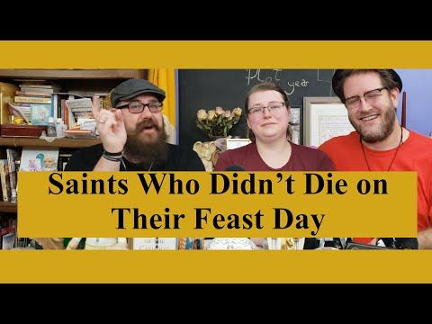Unexpected Saints' Feast Days