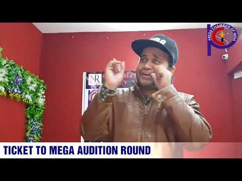 "Ticket to Mega Audition round of ""Talash Hunar Ki""."