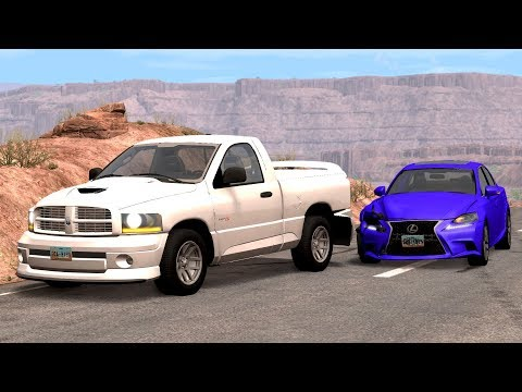 Traffic Jam Car Crashes Compilation (5) - BeamNG.Drive