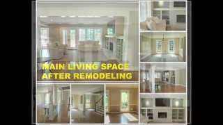 Remodeling: Dated Living Space Transformed To Elegant Home Design