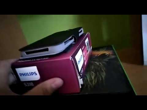 Распоковка смартфон филипс с318