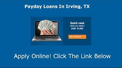 Payday Loans Irving, TX | Online Cash Advance