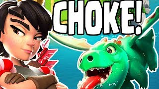 Clan Wars: TRIPLE CHOKE! - Clash Royale
