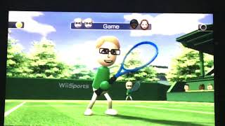 Wii Sports-raging And Funny Moments- Tennis