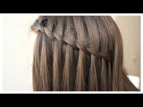 Şelale Saç Örgüsü