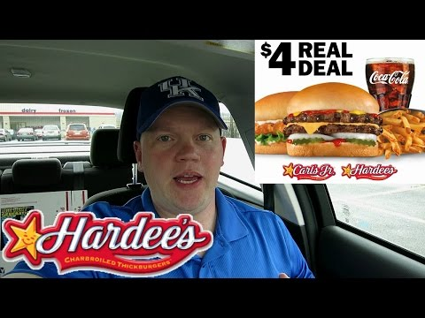 Reed Reviews Hardee's 4 Dollar Real Deal